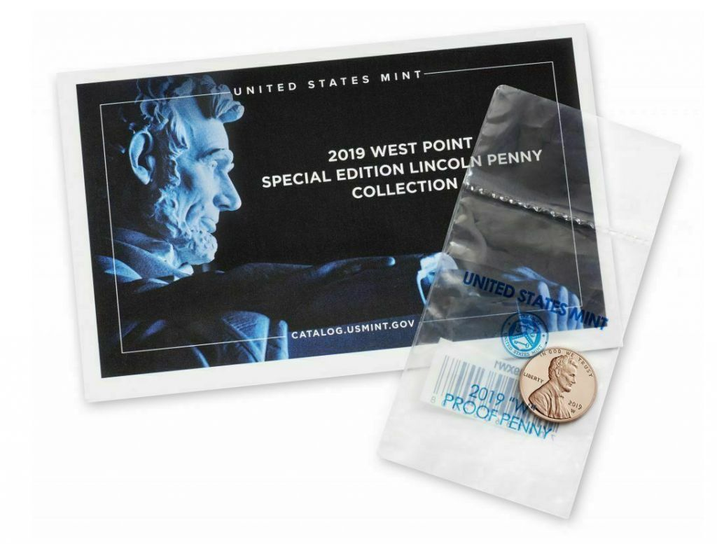 USA 1 Cent Lincoln - Reverse Proof Penny + enveloppe - 2019 - Neuf