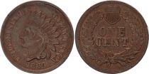 USA 1 Cent Tête d\'Indien - 1864