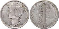 USA 1 Dime Mercury - Années variées 1916-1945