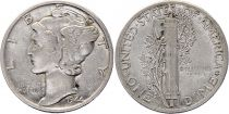 USA 1 Dime Mercury - Mixed dates 1916-1945
