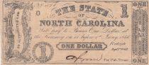 USA 1 Dollar - State of North Carolina - 1862 - TB
