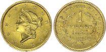 USA 1 Dollar  Liberty - 1853 - Gold