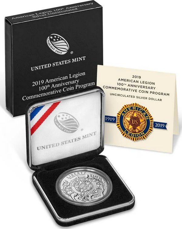 USA 1 Dollar 100 ans Légion - FDC 2019 P Philadelphie