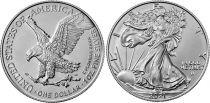 USA 1 Dollar American Eagle - Type 2 - 2021 - SILVER