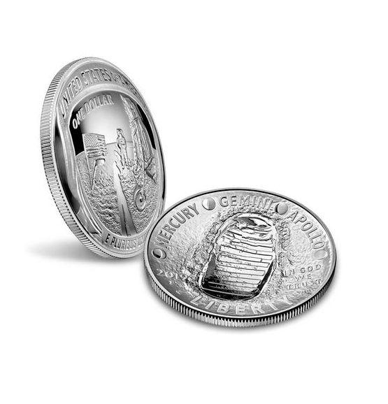USA 1 Dollar Apollo 11 - FDC 2019 P Philadelphie