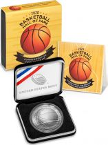 USA 1 Dollar Basketball Hall of Fame - P Philadelphie - FDC 2020 Argent