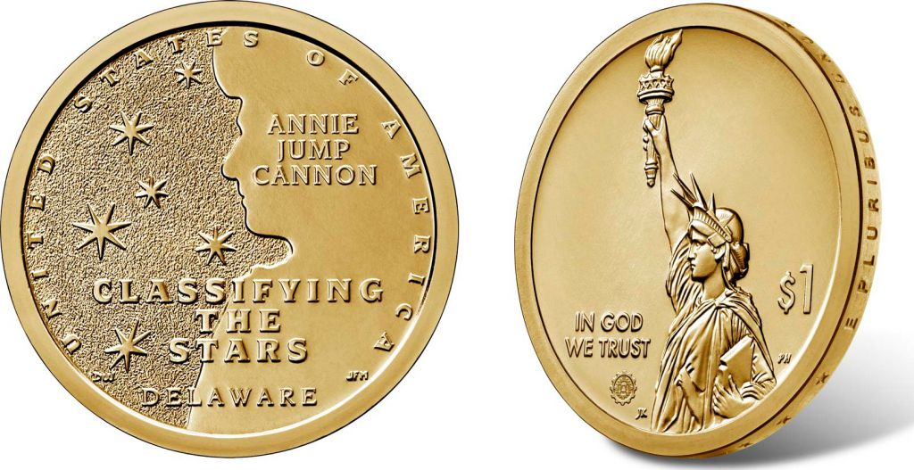 USA 1 Dollar Delaware Annie Jump Cannon Innovation 2019 D Denver