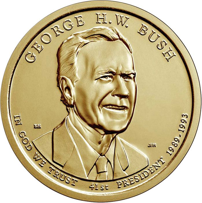 USA 1 Dollar George H. W. Bush - 2020 P Philadelphie