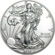 USA 1 Dollar Liberty, Eagle - Silver Oz 2020