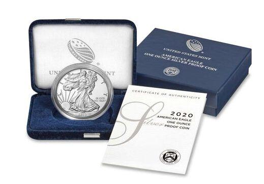 USA 1 Dollar Liberty American Eagle - 2020 - Proof