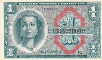 USA 1 Dollar Military Cerificate - Série 611 - 1964