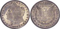 USA 1 Dollar Morgan - Eagle  - 1878 cc - Carson City