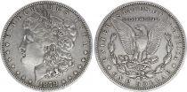 USA 1 Dollar Morgan - Eagle 1879 O Nouvelle Orleans - Silver