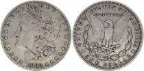 USA 1 Dollar Morgan - Eagle 1880- Silver - Fine