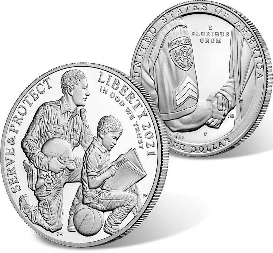 USA 1 Dollar National Law - 2021 - Philadelphie - Proof Silver