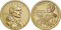 USA 1 Dollar Native American - Elizabeth Peratrovich 2020 D Denver