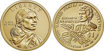 USA 1 Dollar Native American - Elizabeth Peratrovich 2020 P Philadelphia