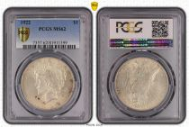 USA 1 Dollar Peace - 1922 PCGS MS 62