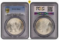 USA 1 Dollar Peace - 1923 PCGS MS 63