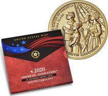 USA 1 Dollar Septima Clark Innovation 2020 S San Francisco - Caroline du Sud - Proof