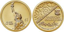USA 1 Dollar Statue de la Liberté - Innovation 2019 S San Francisco Proof