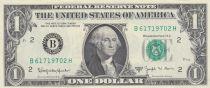 USA 1 Dollar Washington - 1963 - B2 New York - UNC - P.443B
