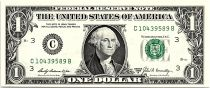 USA 1 Dollar Washington - 1969 B - C.3 Philadelphie - Neuf