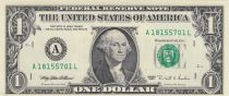 USA 1 Dollar Washington - 1995 - A1 Boston- UNC - P.496a