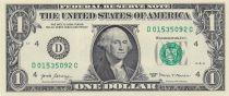 USA 1 Dollar Washington - 2017 - D4 Cleveland- UNC - P.544