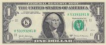 USA 1 Dollar Washington - 2017 - K11 Dallas - UNC