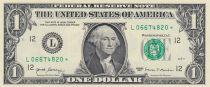 USA 1 Dollar Washington - 2017 - L 12 San Francisco - Remplacement - L-* - UNC