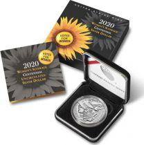 USA 1 DollarVote des Femmes - P Philadelphie - FDC 2020 Argent