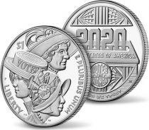 USA 1 DollarVote des Femmes - P Philadelphie - Proof 2020 Argent