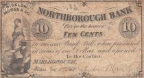USA 10 Cents - Northborough Bank - 1862 - TB