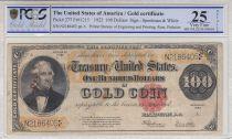 USA 100 Dollars Benton - 1922 PCGS VF25