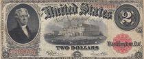 USA 2 Dollars Jefferson - 1917 - TB - P.188