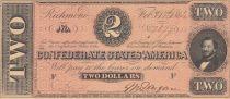 USA 2 Dollars J.P. Benjamin - Confédérate States - 1864
