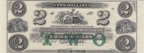 USA 2 Dollars The New England Commercial Bank - 18xx - UNC