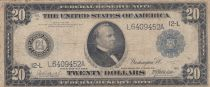 USA 20 Dollars Cleveland - 1914- Fine - P.361 - L12 San Francisco