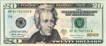 USA 20 Dollars Jackson - Maison Blanche F6 Atlanta - 2017 - Neuf