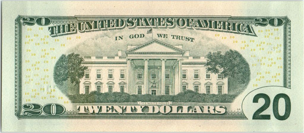 USA 20 Dollars Jackson - White House F6 Atlanta - UNC - P.546