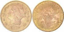 USA 20 Dollars Liberty - Aigle Coronet Head - 1884 S San Francisco Or