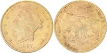 USA 20 Dollars Liberty - Eagle Coronet Head - 1897 Gold