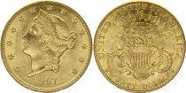 USA 20 Dollars Liberty - Eagle Coronet Head - 1907 Gold
