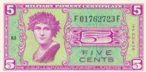 USA 5 Cents Military Cerificate - Série 541 - 1951 - Neuf - P.M.36