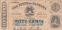 USA 50 Cents - The State of Alabama - 1863 - TTB