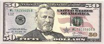 USA 50 Dollars Grant - Capitol 2013 L12 San Francisco - UNC
