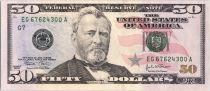 USA 50 Dollars Grant - US Capitol 2004 G7 Chicago