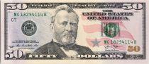 USA 50 Dollars Grant - US Capitol 2013 G7 Chicago
