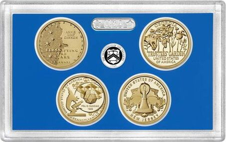 USA American Innovation 2019 $1 Coin Proof Set